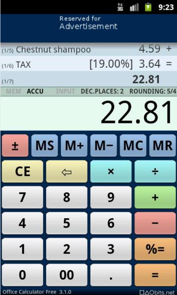 Officecalculator